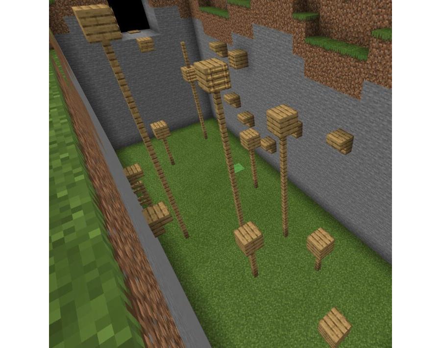 A Minecraft Parkour Map