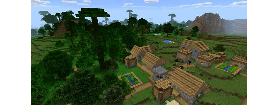 Almost A Jungle Village