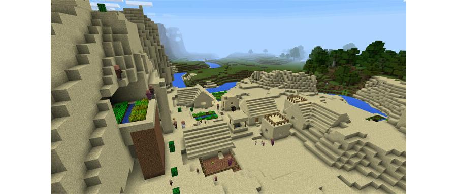 Desert Mountain Village