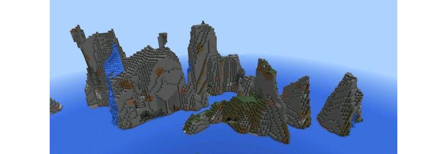 Extreme Mountain Islands
