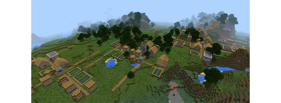 Five Villages At Spawn