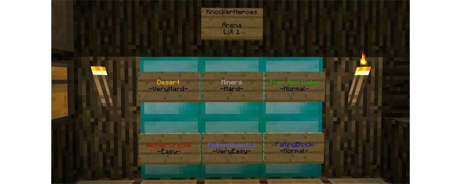 Knocker Heroes [Modded Map]