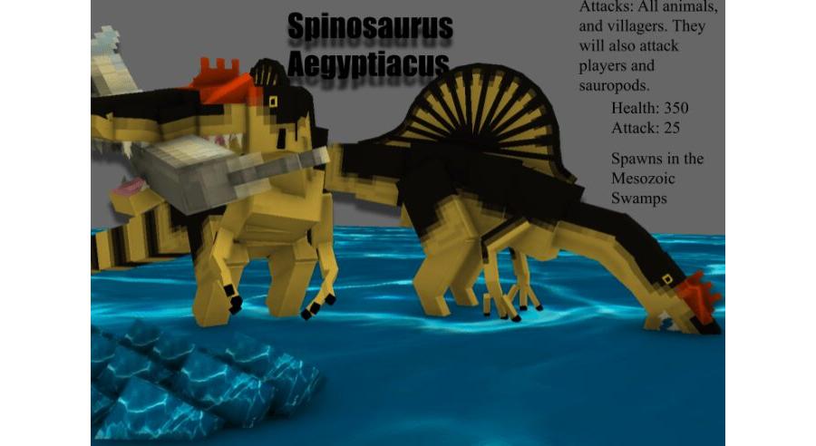 MesozoiCraft: Rex's Rivals1.0.2