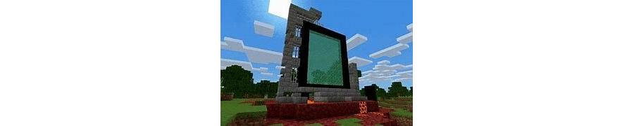 Rainbow Nether Portal