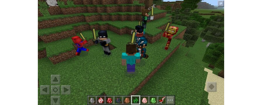 Super Heroes Friends Mod v1.0
