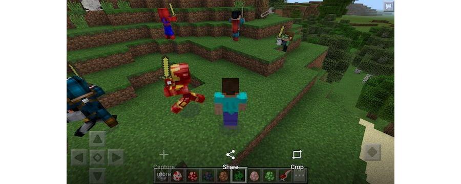 Super Heroes Villains Mod v1.0