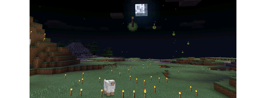 Throwable Torches Mod