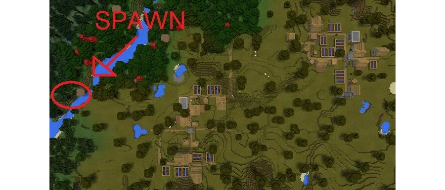 Two Villages Near Spawn