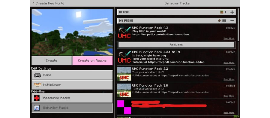 UHC Function V4.5.1